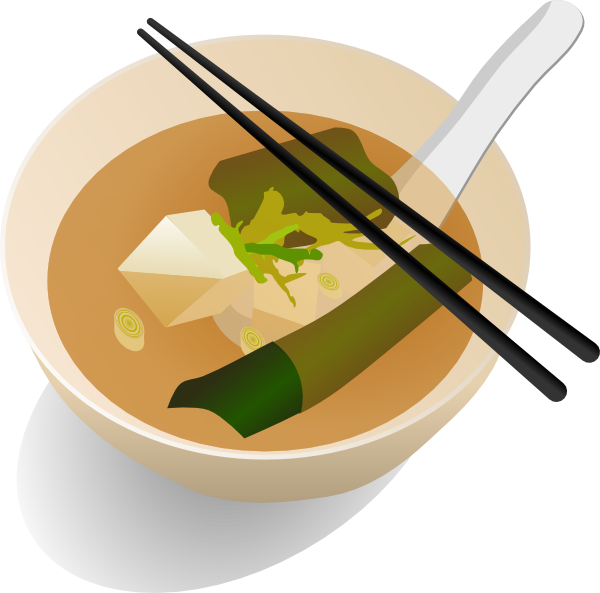 Miso Soup Clip Art at ...