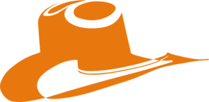Burnt Orange Cowboy Hat Clip Art