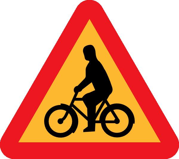 Bicycles Roadsign Clip Art at Clker.com - vector clip art ...