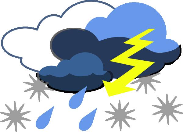 Lightning Strike Clip Art at Clker.com - vector clip art online ...