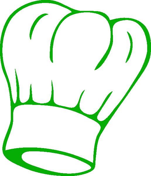 Chef Hat Green Clip Art At Clker Com Vector Clip Art