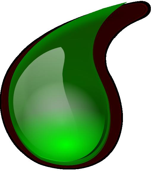 Green Drop Clip Art at Clker.com - vector clip art online ...