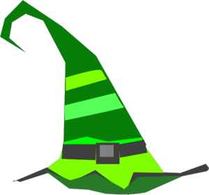Green Witch Hat Clip Art