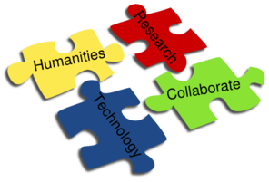 Digital Humanities Puzzle Pieces Clip Art