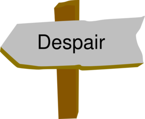 Despair Clip Art
