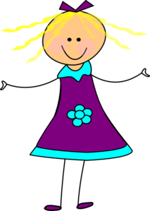 happy girl purple clip art at clker com vector clip art online rh clker com happy birthday girl clipart happy girl clipart free