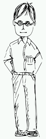 Standing Person Clip Art at Clker.com - vector clip art ...