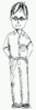 Standing Person Clip Art