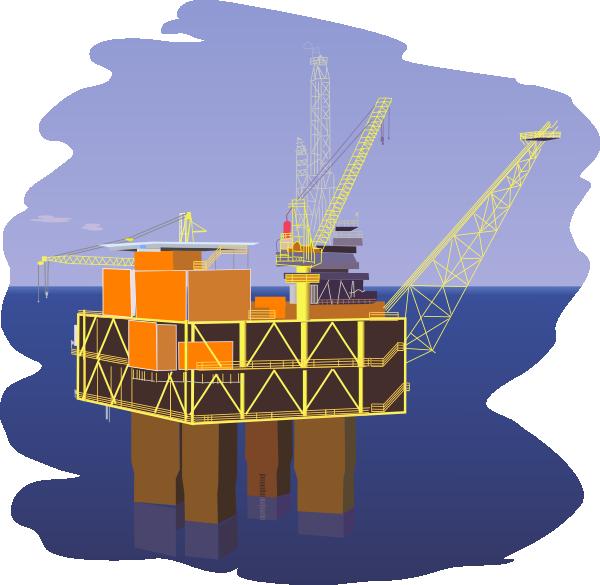 Offshore Oil Rig Clip ...