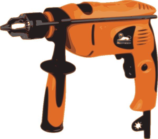 Power Drill Bit Clip Art : Power drill clip art at clker vector online