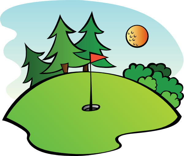 Image result for golf course clip art free