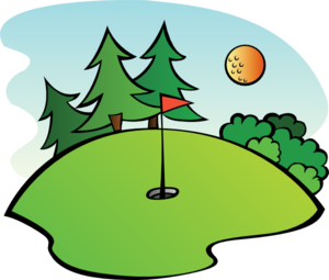 Golf Course Clip Art