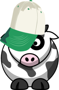 Brother Cow Clip Art