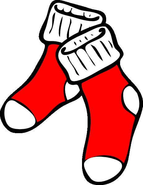 Red Socks Clip Art at ...