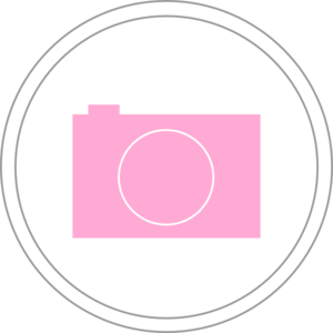 Pink Photography Icon Clip Art