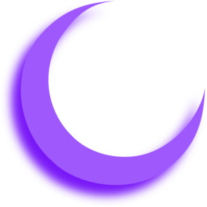 Purple Moon Clip Art