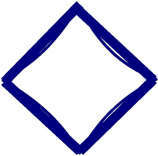 Blue Diamond Clip Art at Clker.com - vector clip art ...