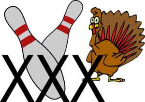 Bowling Turkey Clip Art