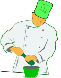 Green Chef Clip Art