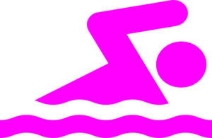 pink swimmer clip art at clker com vector clip art online royalty rh clker com swimming clipart black and white swimming clip art free images