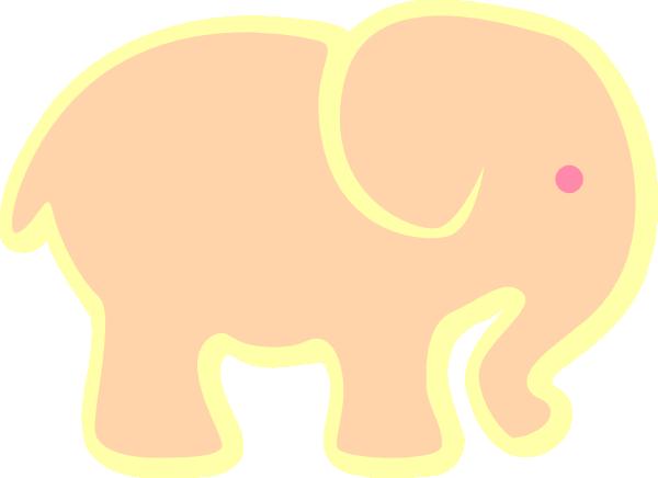 clip art pink elephant - photo #26
