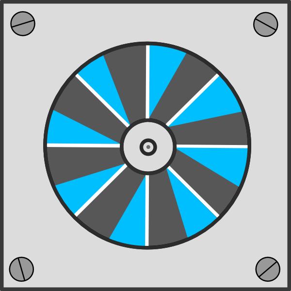 Ceiling Fan Icon