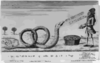 The American Rattlesnake Presenting Monsieur His Ally A Dish Of Frogs Clip Art