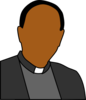 Priest Head Shoulders Clip Art
