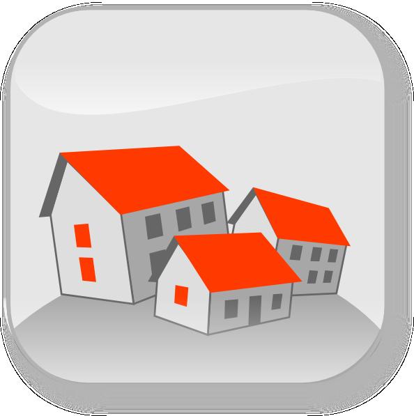 Community Houses Clip Art at Clker.com - vector clip art ...