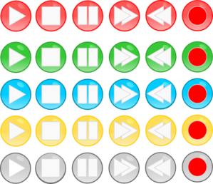Playback Buttons Clip Art