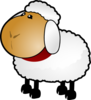 Sheep, Rotate 1 Clip Art