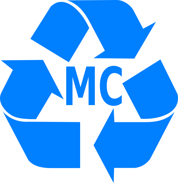 blue recycling logo clip art at clker com vector clip art online rh clker com recycle clip art free recycle clipart