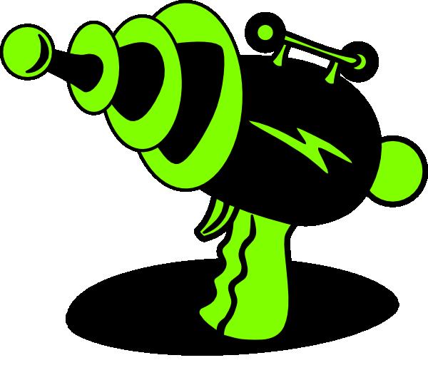 ray gun green and black clip art at clker com vector laser quest clipart Laser Quest Denver