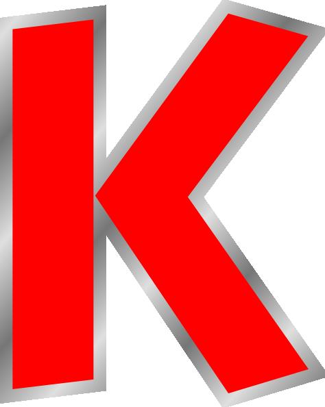 Uppercase K Clip Art At Clker.com   Vector Clip Art Online, Royalty Free U0026  Public Domain