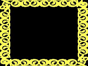 Yellow Border Frame Clip Art at Clker.com - vector clip ...