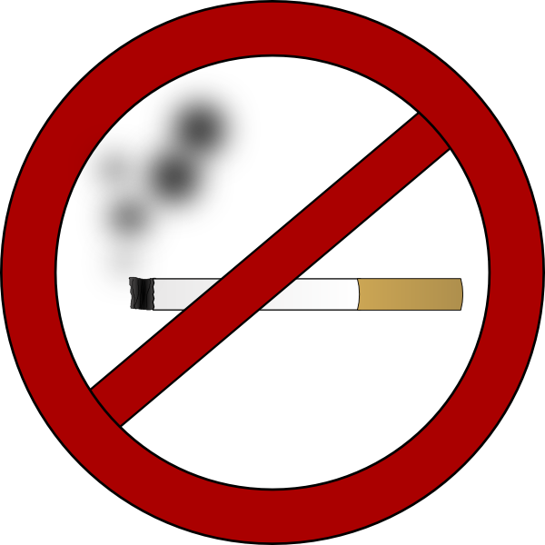 free clipart no smoking symbol - photo #25