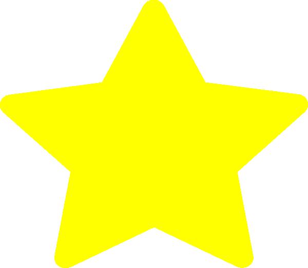 Large Yellow Star Clip Art at Clker.com - vector clip art online ...