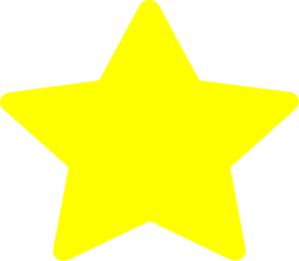 Large Yellow Star Clip Art