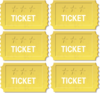 Golden Tickets Clip Art