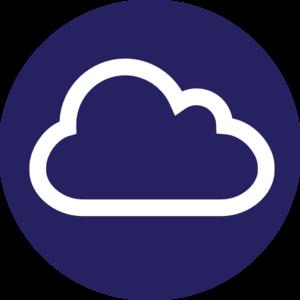 Circle Cloud Icon Internet Clip Art at Clker.com - vector clip art ...