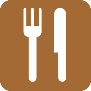 Food Service Brown Clip Art
