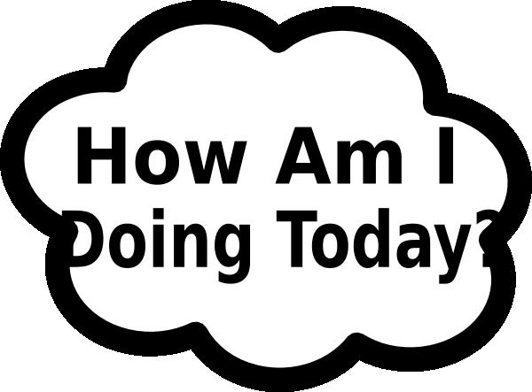 I Am Doing This: How Am I Doing Sign Clip Art At Clker.com