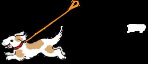 Totetude Dog Leash Walk Clip Art at Clker.com - vector ...