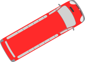 Red Bus - 30 Clip Art