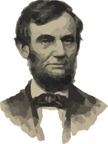 Abraham Lincoln No Beige Background Clip Art
