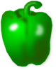 Green Pepper Clip Art