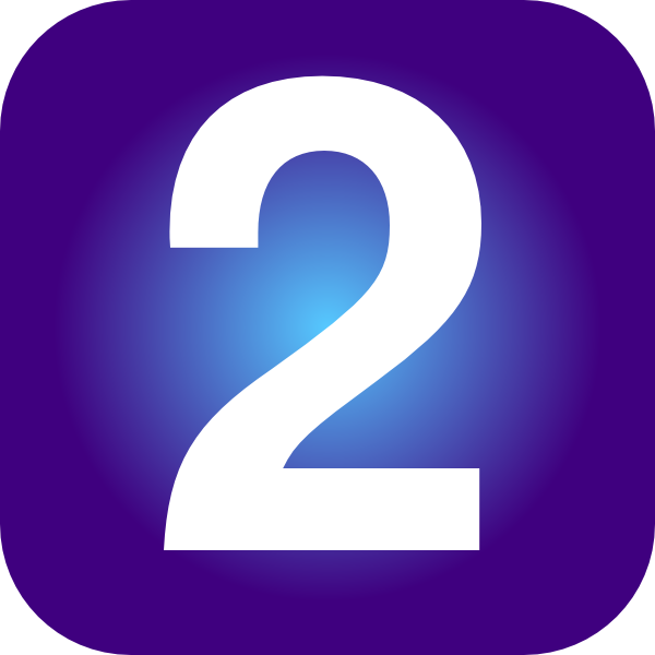 Number 2 clip artNumber 2 Clipart Purple