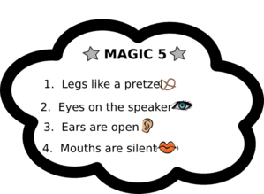 Magic Five Chart Clip Art