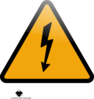Caution High Voltage Clip Art