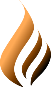 Maron  Flame Logo Re Edit Clip Art